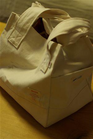 帆布×トリコロールのバッグキット