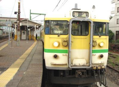 弥彦線弥彦行き普通電車1115