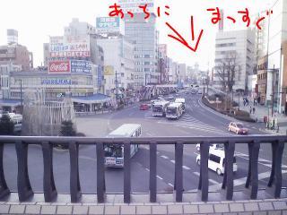 水戸駅北口付近c