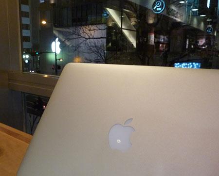 2つのリンゴ