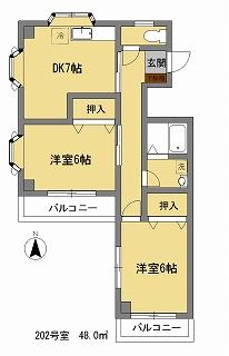 RISO23_202間取図