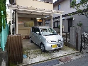 下井草一丁目貸家駐車場