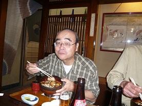 広島名物のアナゴ丼。おいしかったよ。