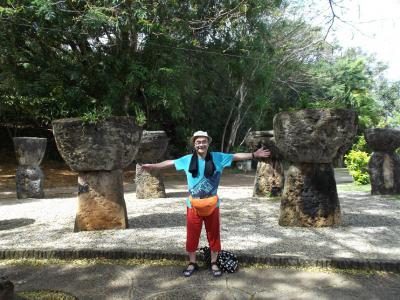 グアム、巨石文化の名残?