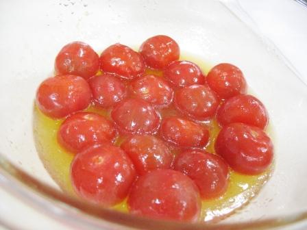 トマトマリネ中