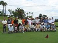 第48回岡会計ゴルフコンペ 集合写真