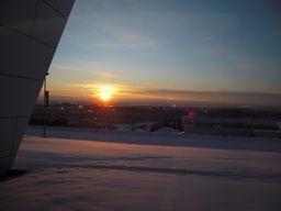 フェアバンクスの太陽@アラスカ