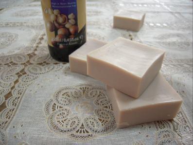 マカデミアナッツ石鹸400