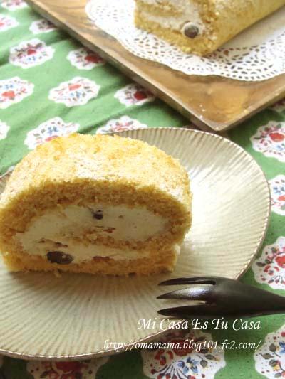 Roll Cake Slice