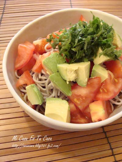 Tomato Soba