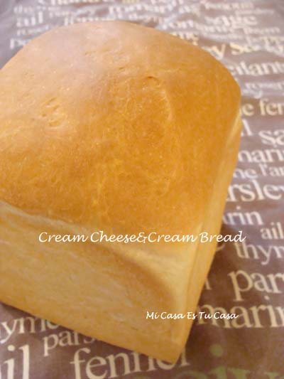 Cream CheeseCream Bread