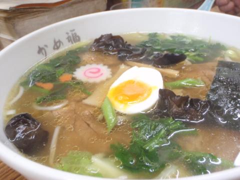 五目チャーシュー麺@かめ福(浦和)