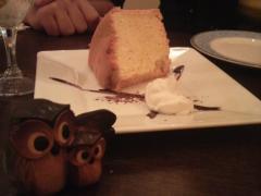 あさみさんのつくったシフォンケーキ