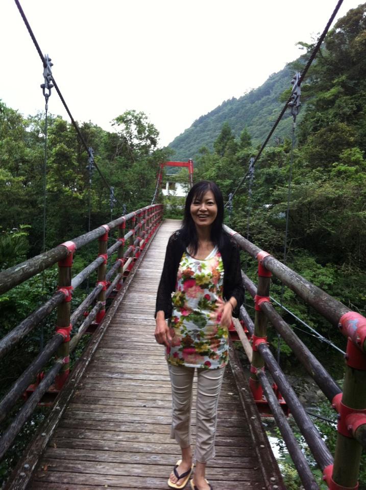 オーベルジュ土佐山吊り橋