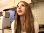 出会い系サイトで知り合った青い瞳の18才素人ハーフ娘 上原花恋