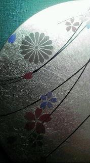 手鏡菊の紋