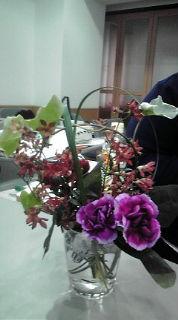 一年生テーブル花