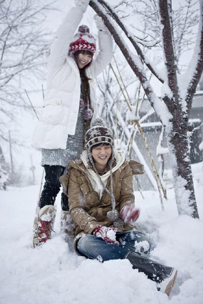 ヘソン雪のメロディー小樽200902020944