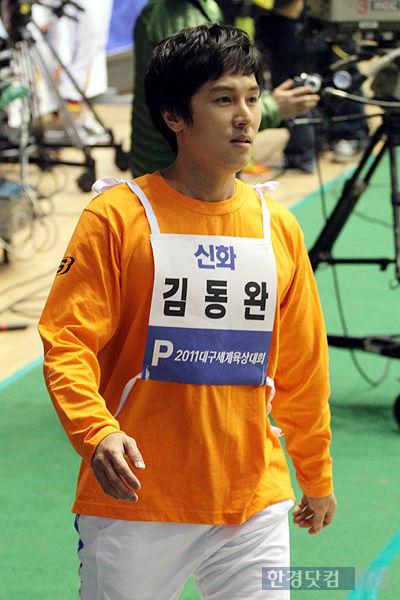 キム・ドンワン2011アイドル陸上大会01