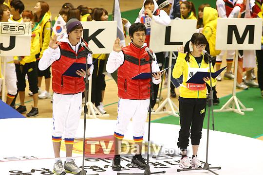 キム・ドンワン2011アイドル陸上大会03