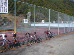 本日は自転車仲間と一緒に早川町へ