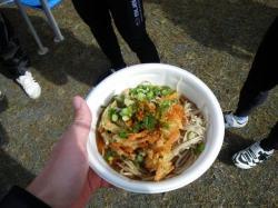天ぷら蕎麦( ゚Д゚)ウマー