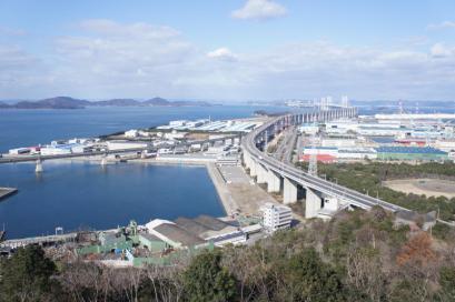 瀬戸大橋を眺めて