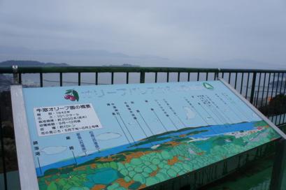 オリーブパレスからの景観図