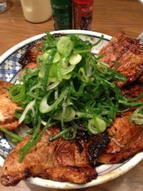 帯広豚丼 ネギ
