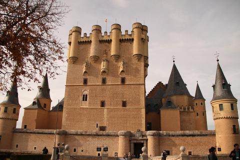 0845 El Alcazar de Segovia