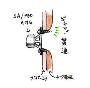 K-5963改良 ギャッ貫通