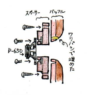 K-5963改良 スペーサーを作る