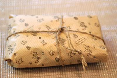 すてきな香りの包み