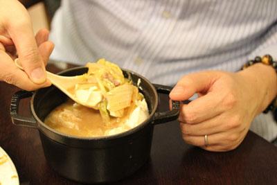 豆腐チゲ具沢山
