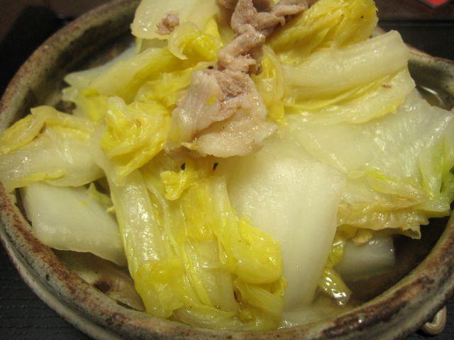 白菜豚肉煮