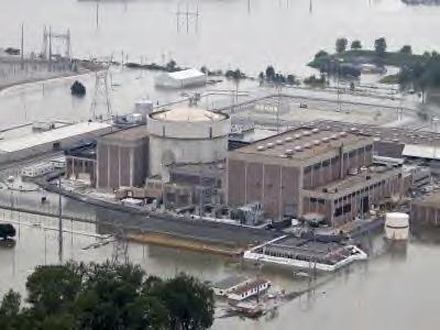 米原発 洪水被害