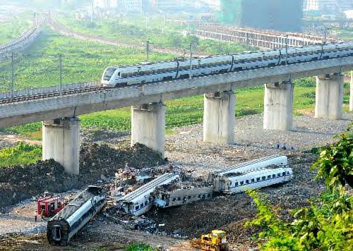 中国列車事故
