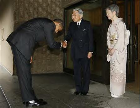 オバマ天皇謁見4