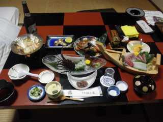 松の家・夕食