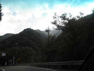国道139号・小菅村から奥多摩へ