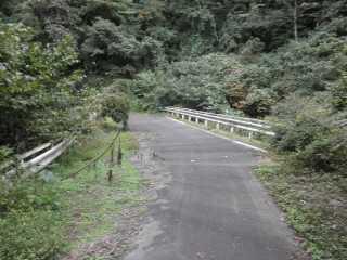山梨県道33号明神沢・宮下橋