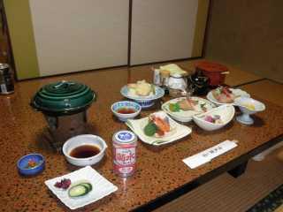 ホテル瀬戸浜 夕食