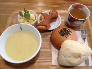 サツマイモスープ