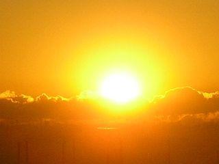埼玉の自宅から眺めた初日の出。
