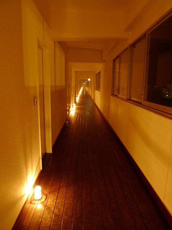 イーフビーチホテル 廊下