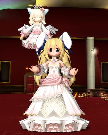 薔薇のドレス1