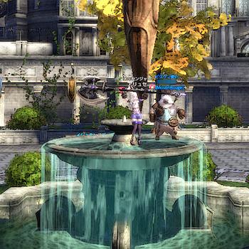 ヴェリカ・自由広場の噴水
