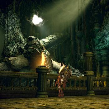 ダゴンの神殿内部