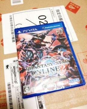 Vita版PSO2スペシャルパッケージ