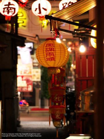 横浜中華街の路地